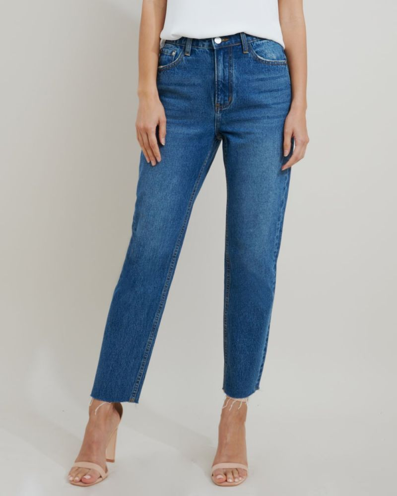Michelle High Rise Straight Jeans