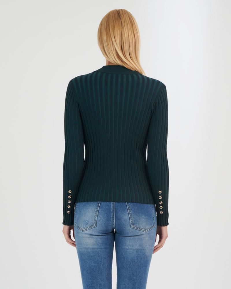 Brooke Mock Neck Knit