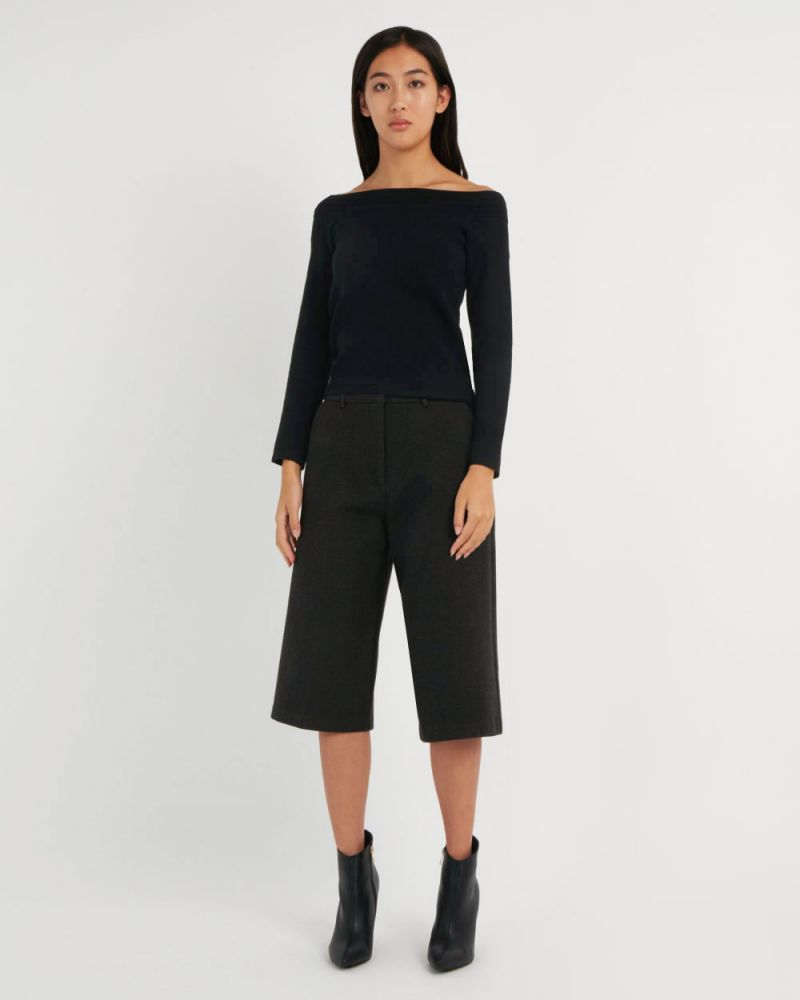 Jacinta Off Shoulder Knit