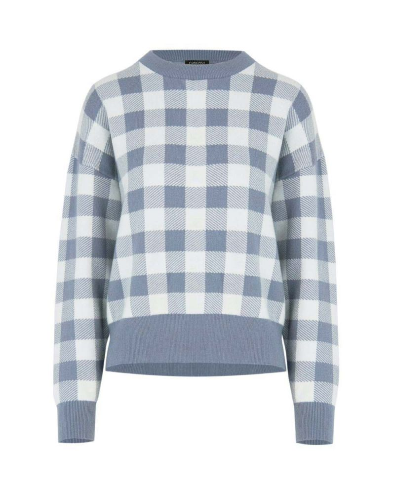 Caesar Check Knit Sweater