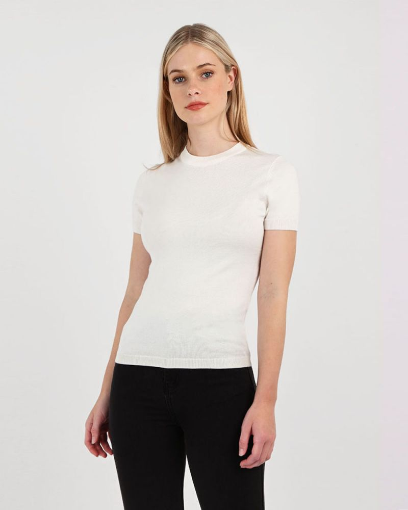 Catherine Short Sleeve Knit