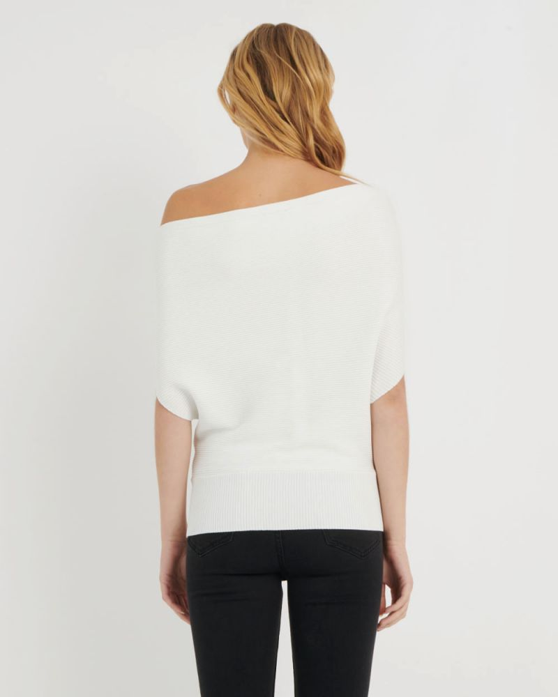 Regan Boatneck Knit Top