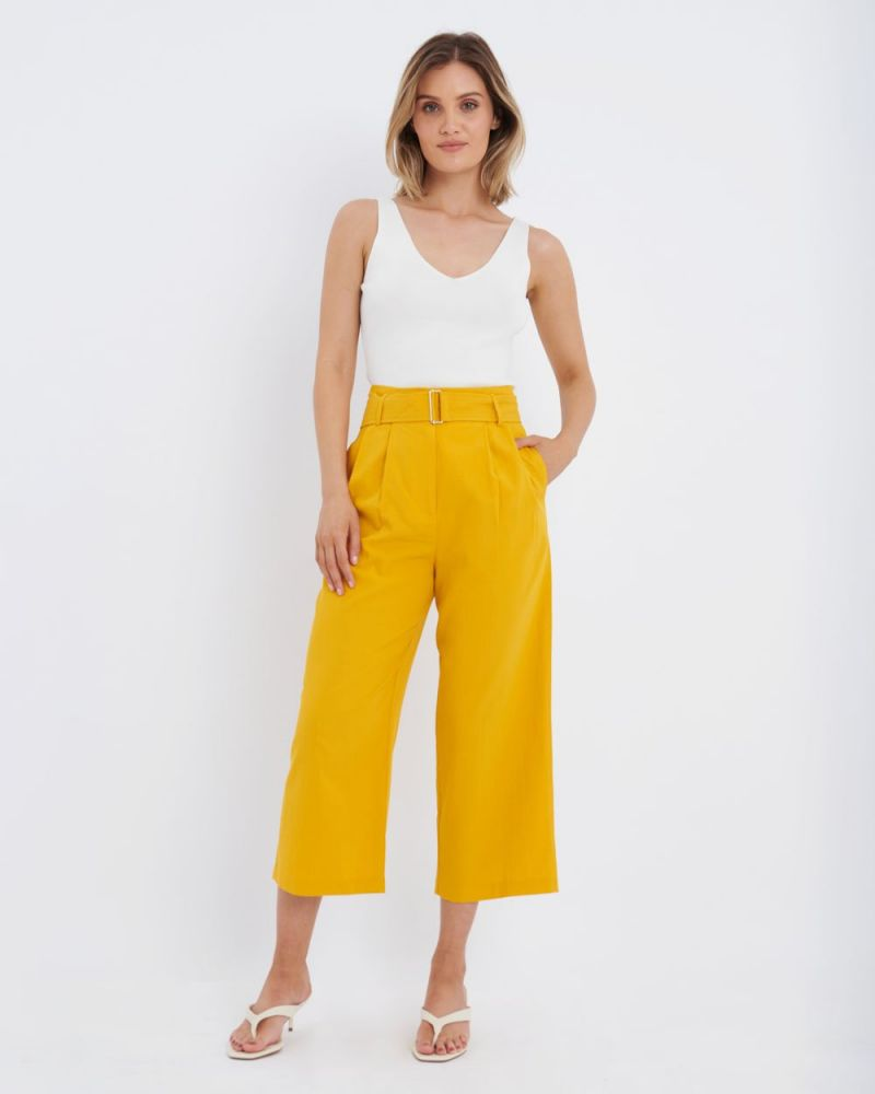 Kira Belted Pants