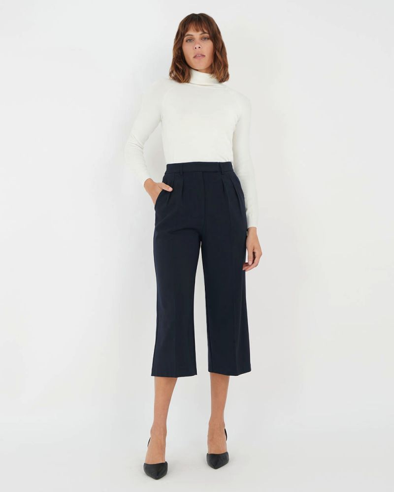 Ophelia Front Pleat Culottes