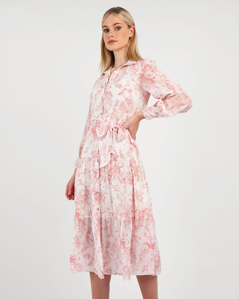 Nelly Printed Shirt Dress