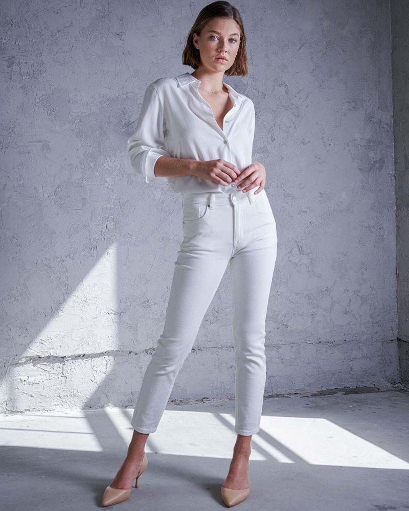 Betsy Mid Rise Skinny Jeans