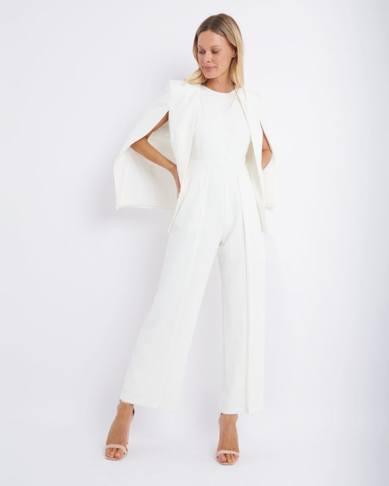 Rio Roundneck Panelled Jumpsuit