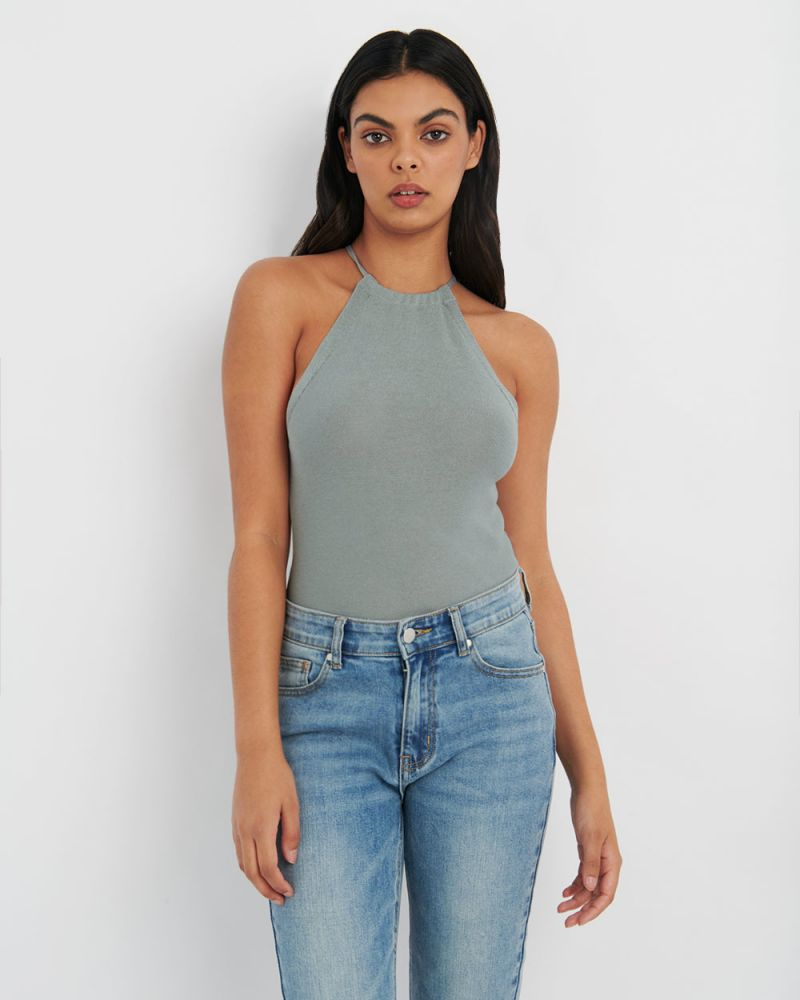 Capri Halter Knit Top