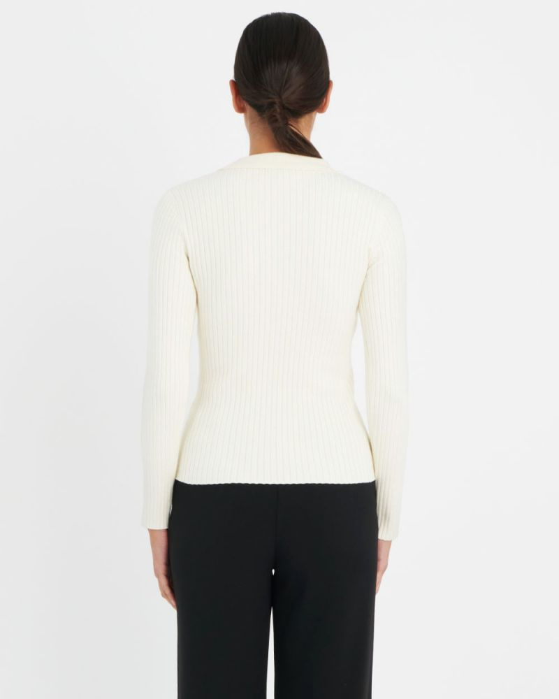 Susie Collared Knit