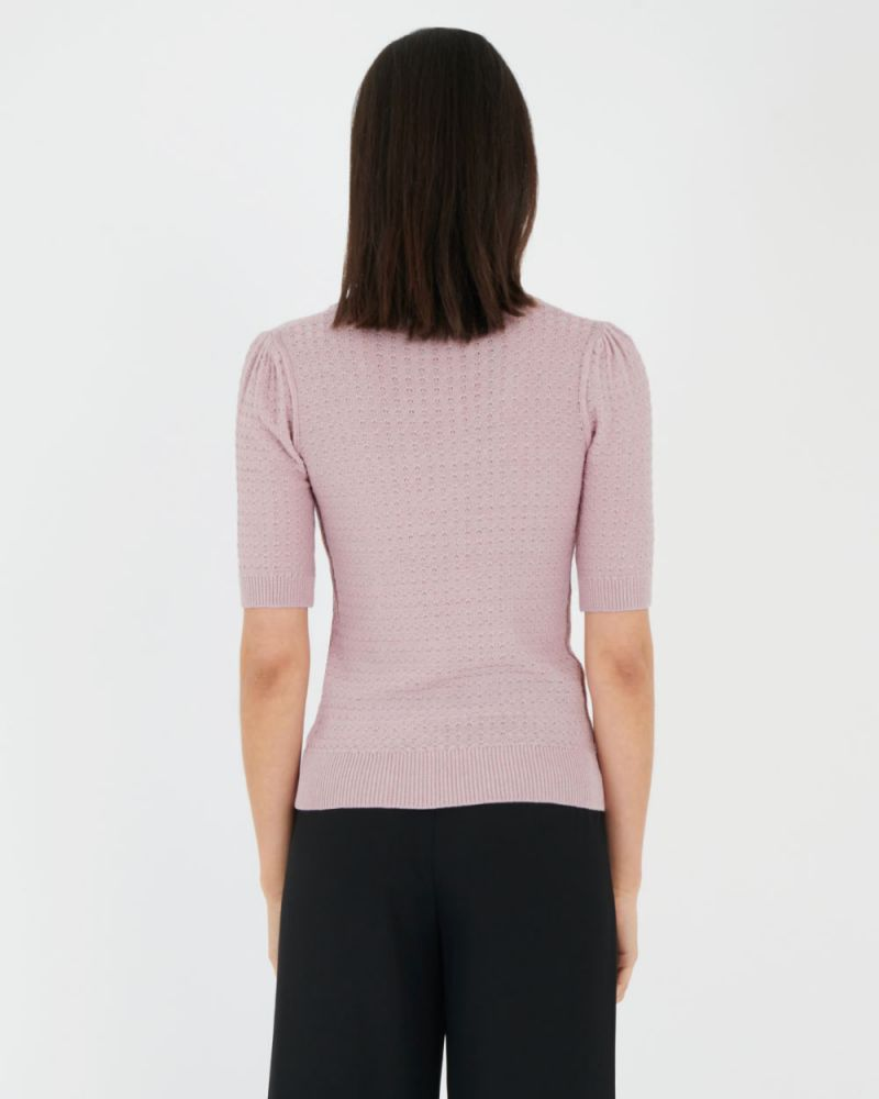 Marie Puff Sleeve Knit Top