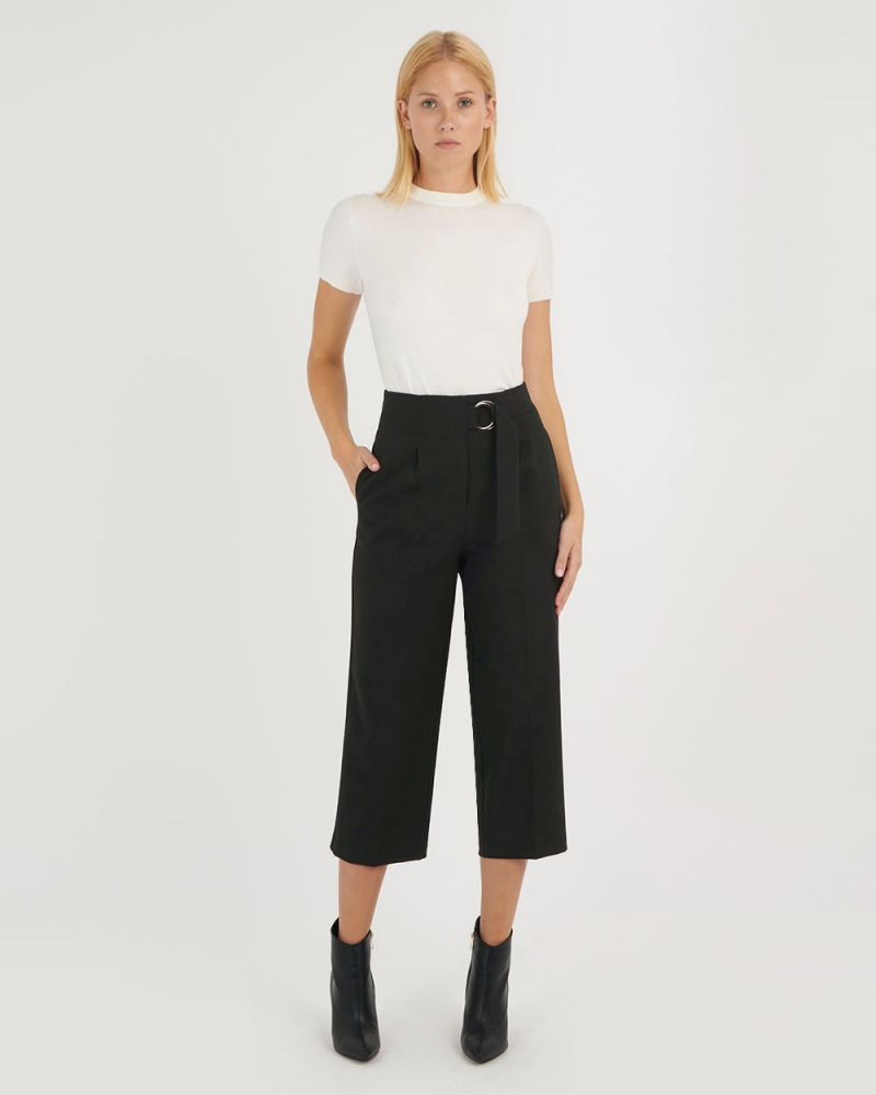 Rory High-Waisted Belted Pants