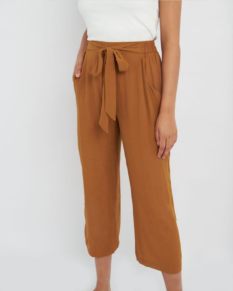 Gina Tie-Front Pants
