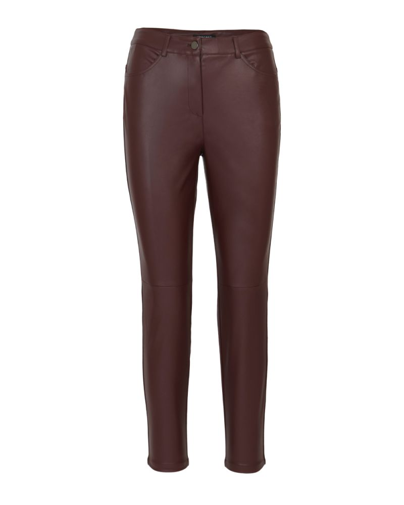Luisa Faux Leather Pants