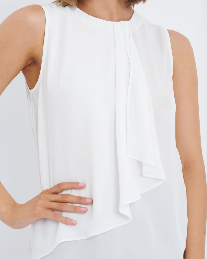 Lola Front Frill Top