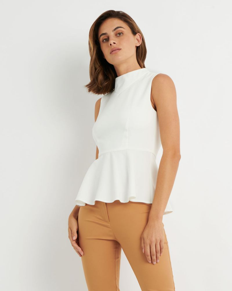 Iman Peplum Top