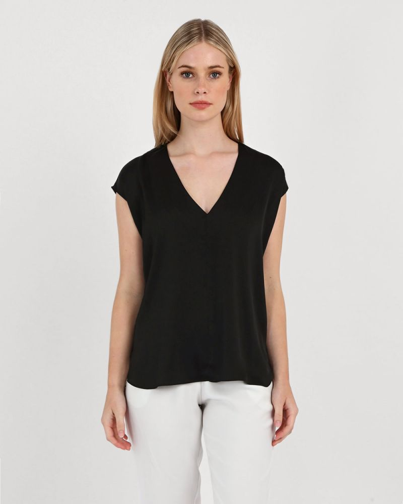 Carla V-Neck Blouse