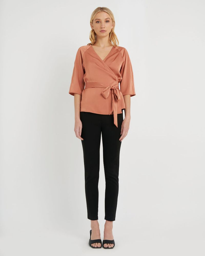 Blanca Wrap Blouse