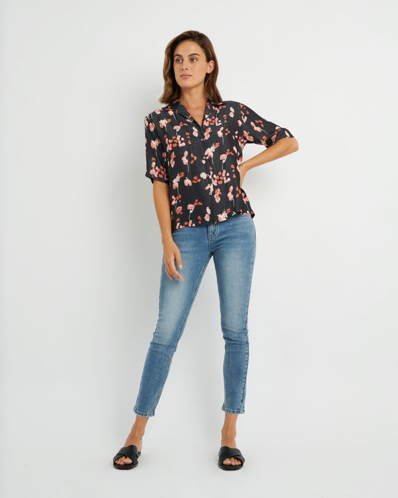 Tess Button - Up Blouse