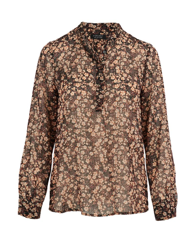Connie Floral Printed Blouse