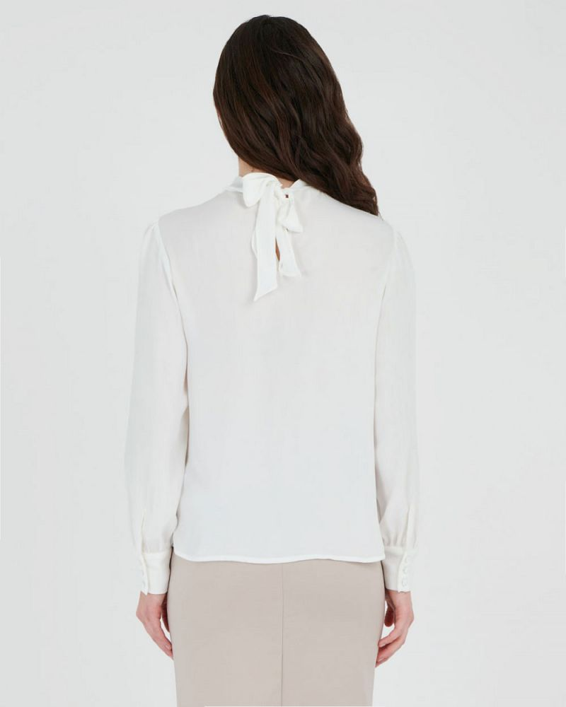 Tracy Tie Back Blouse