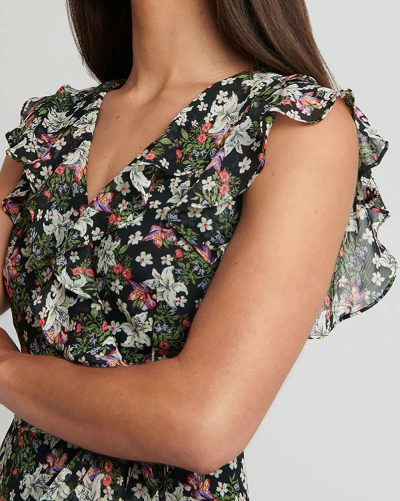 Carly Floral Dress
