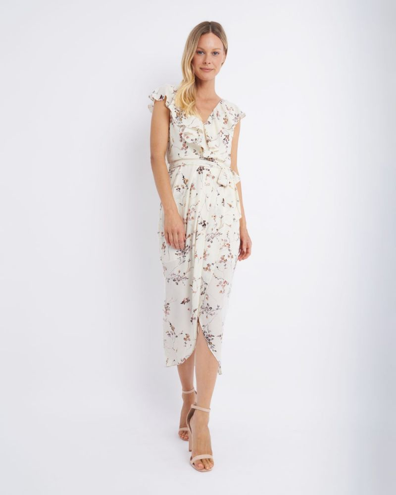 Laya Floral V-Neck Maxi Dress