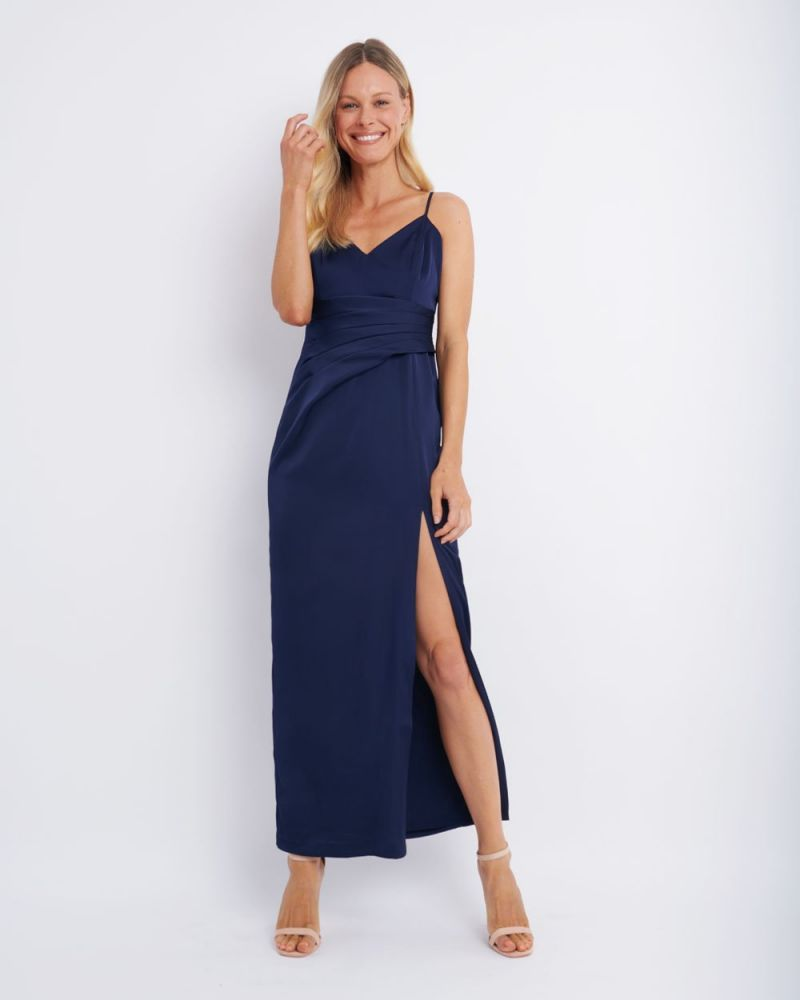 Racquel Side Panelled Maxi Dress