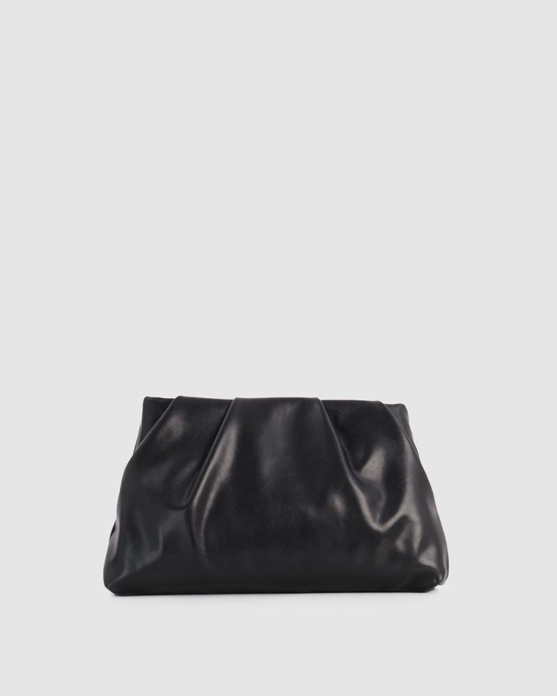 Ellery Pleated Soft Clutch