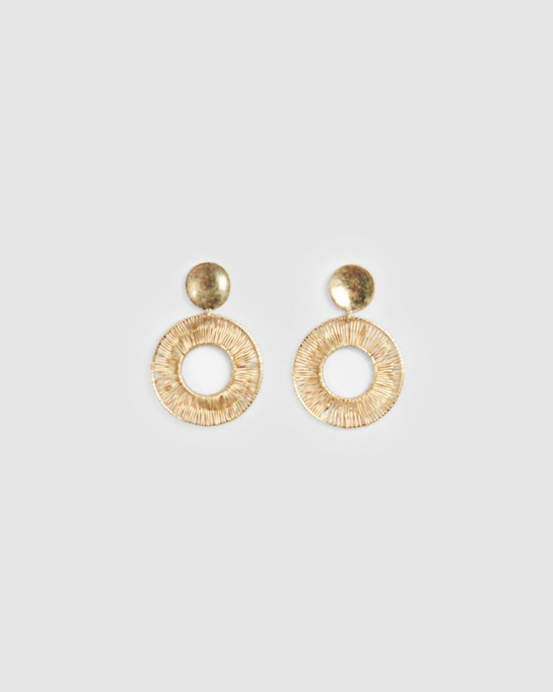 Shania Round Earring
