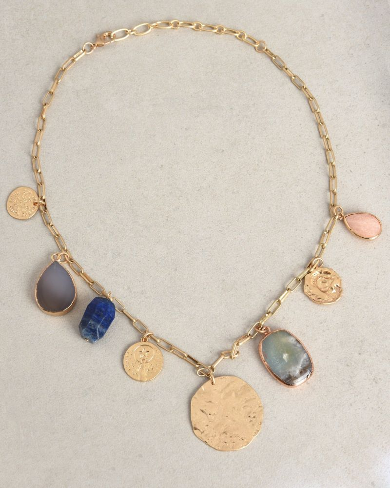 Istanbul Stone Necklace