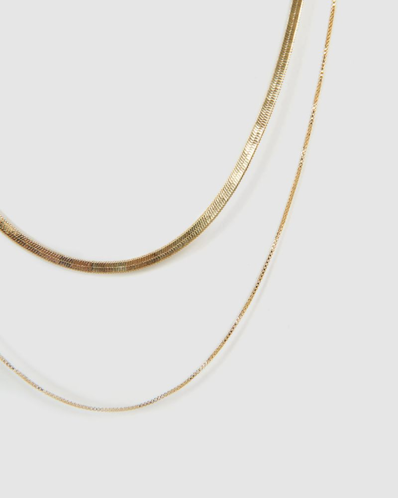 LILA 16K GOLD PLATED NECKLACE