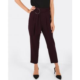 Sandra Belted Trousers | Tuggl