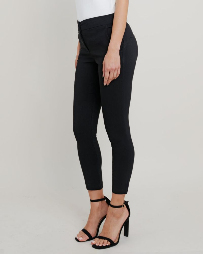 Janette Slim Cropped Pants