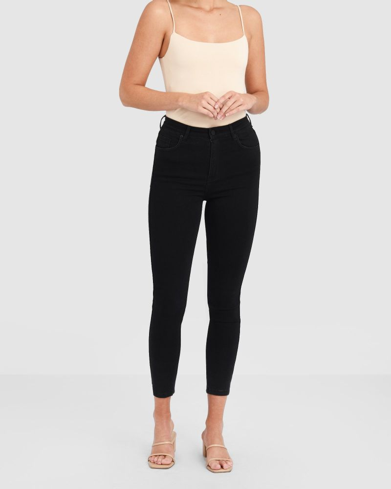 London High Rise Skinny Jeans