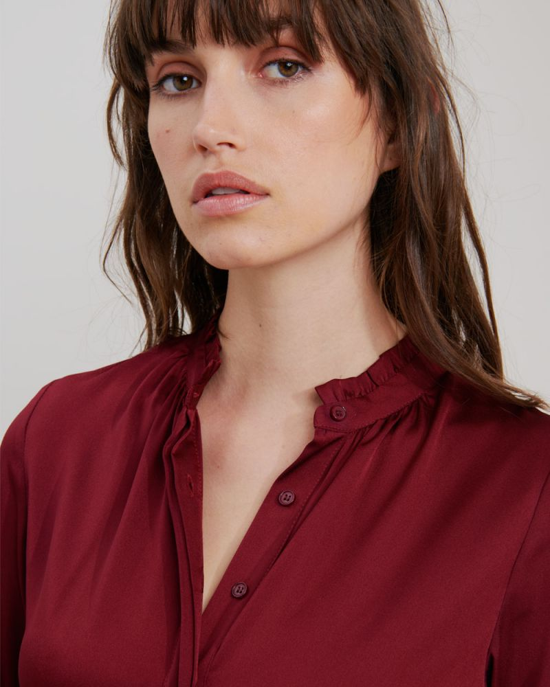 Renee Button Up Blouse