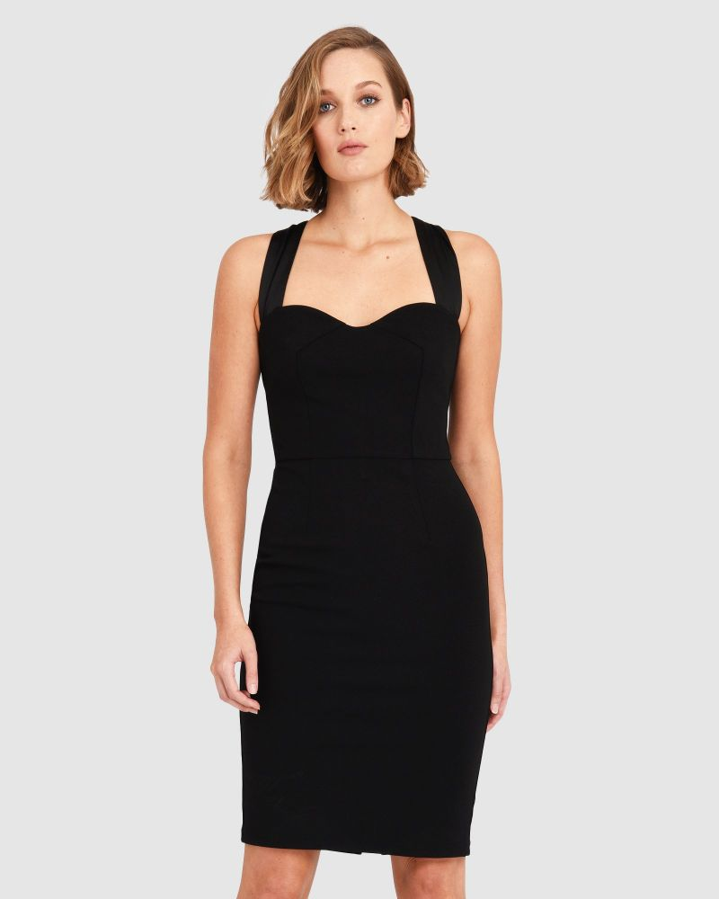 Morgan Sweetheart Pencil Dress