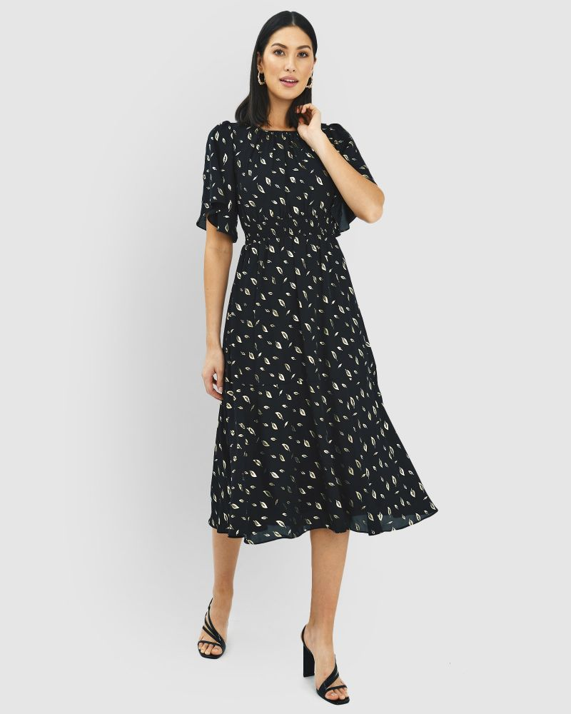 Estrella Shirred Waist Dress
