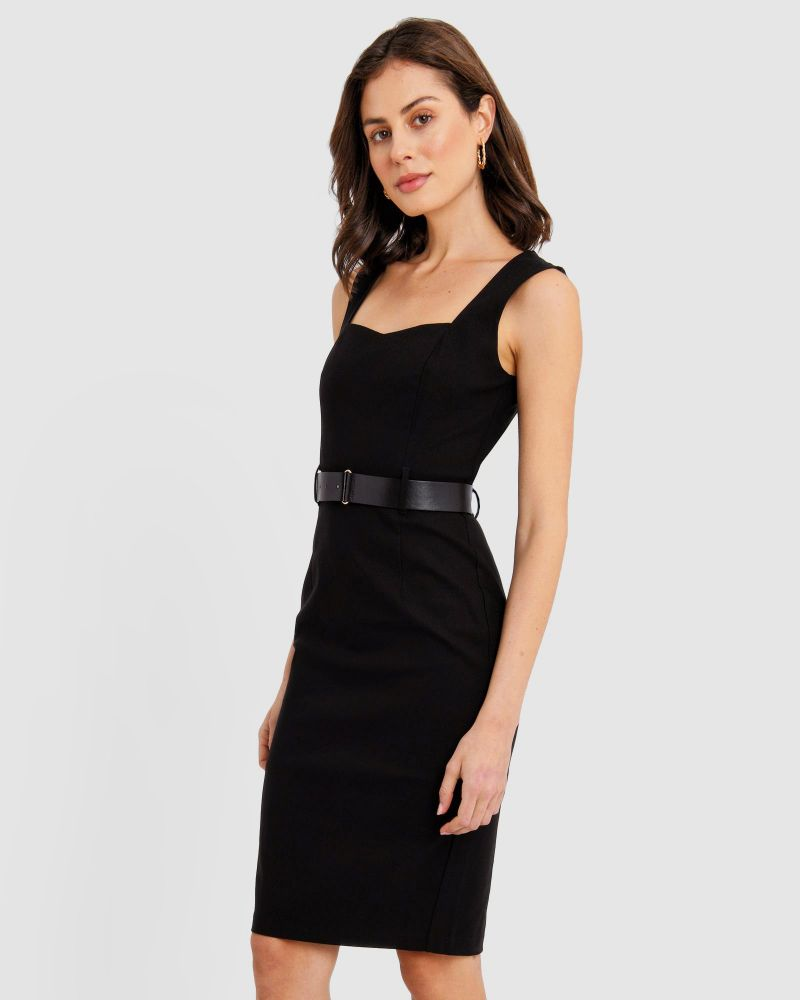 Macy Belted Dress