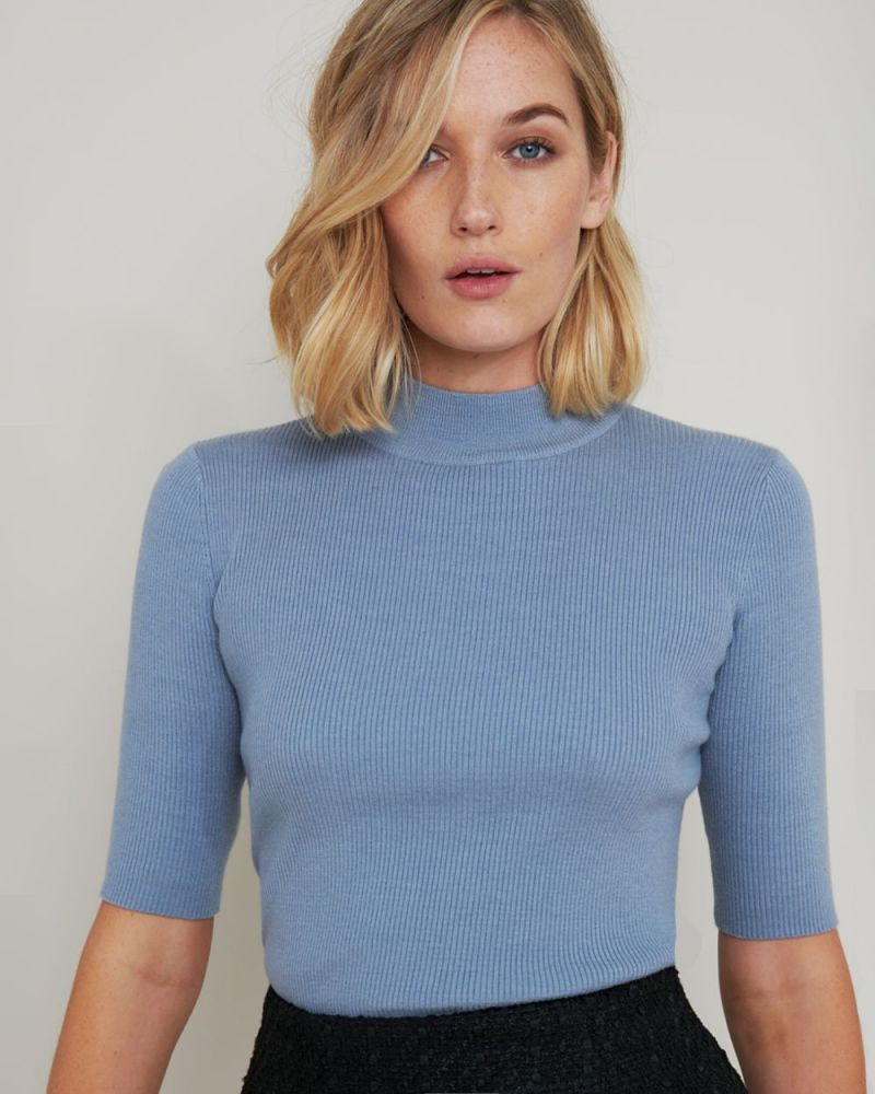 Hadlee Mock Neck Knit