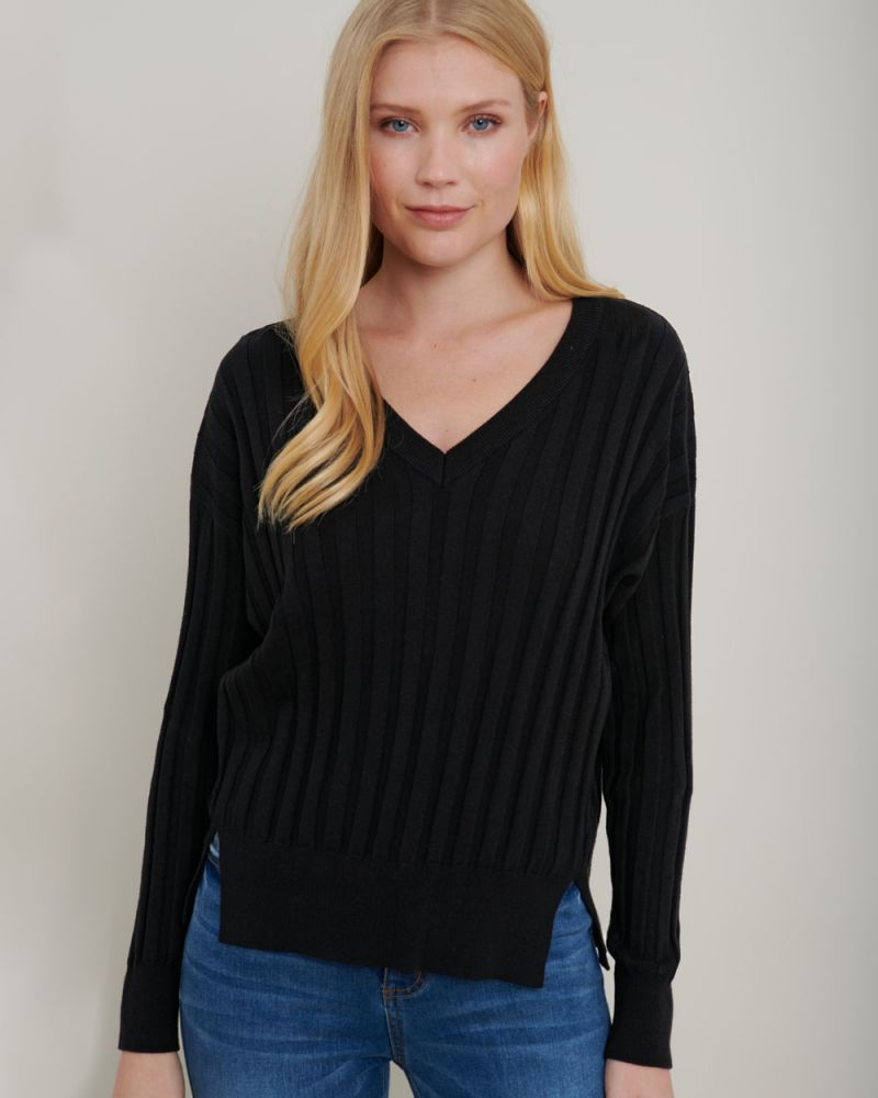Mariam Ribbed Knit Sweater