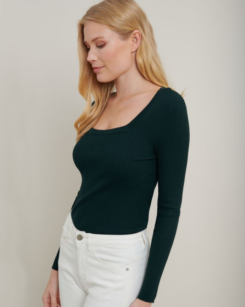 Natasha Square Neck Knit