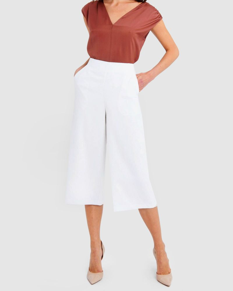 Caylee Wide-Leg Culottes