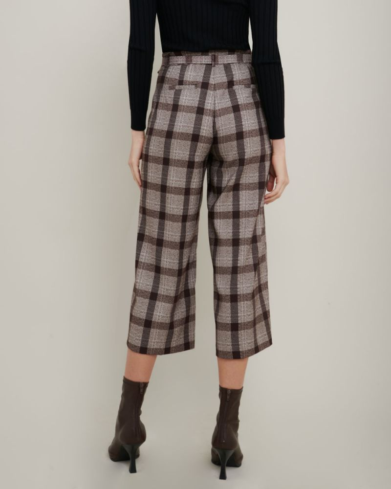 Willa Check Culottes
