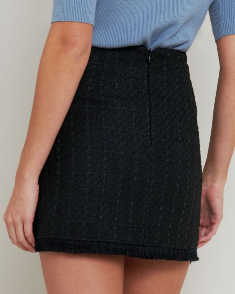 Leia Tweed Mini Skirt