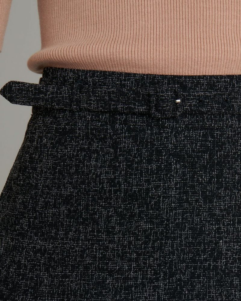 Juliana Textured Skirt