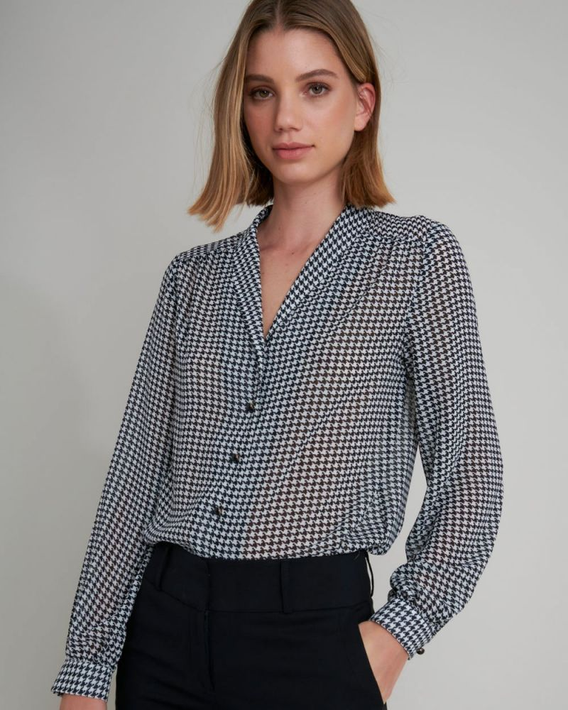 Raegan Button Up Blouse
