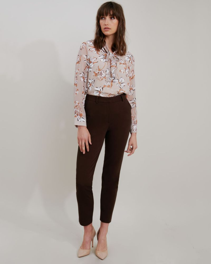 Nataly Tie Neck Blouse