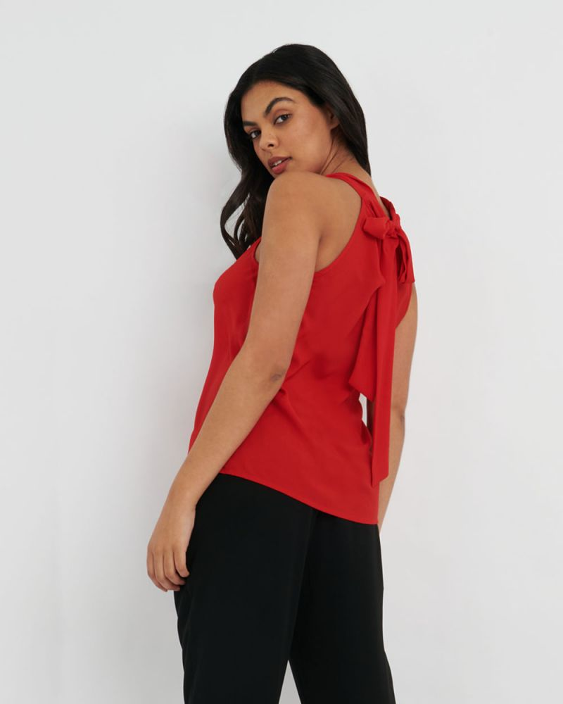 Faye Cowl Neck Top