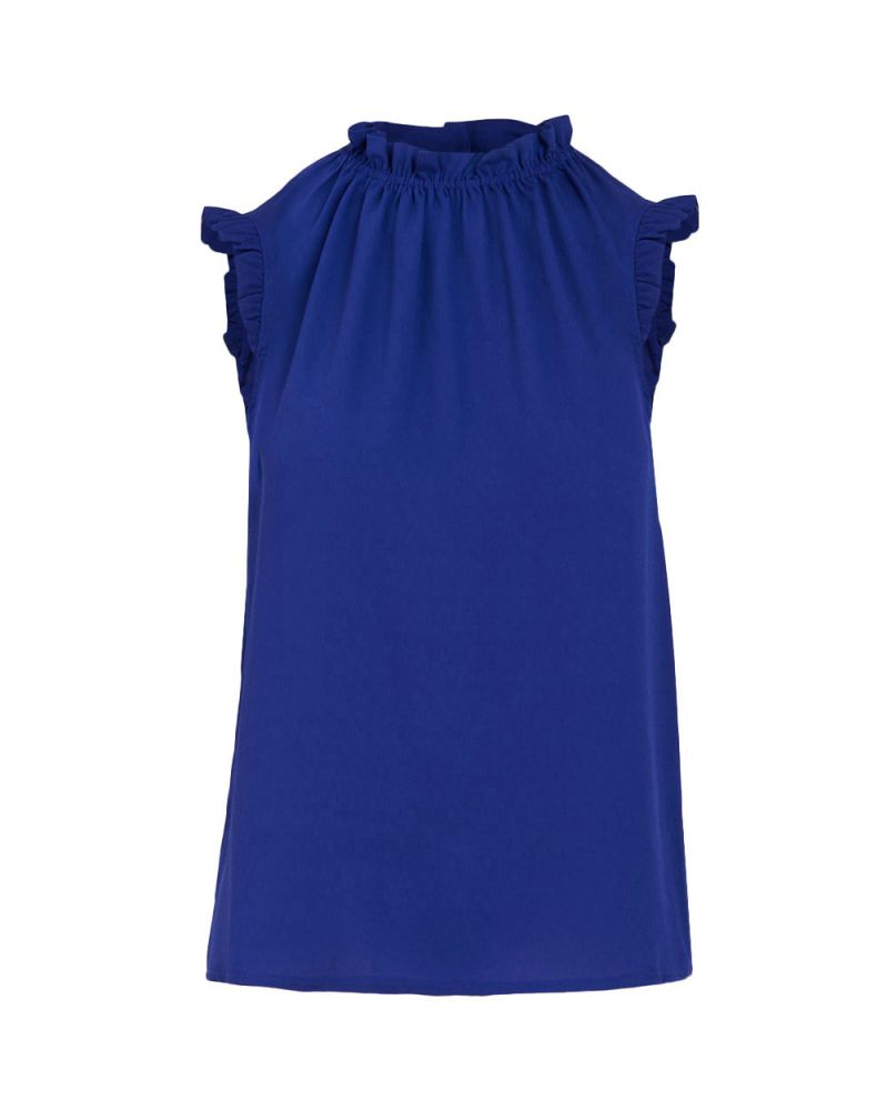 Luca Gathered Neck Top