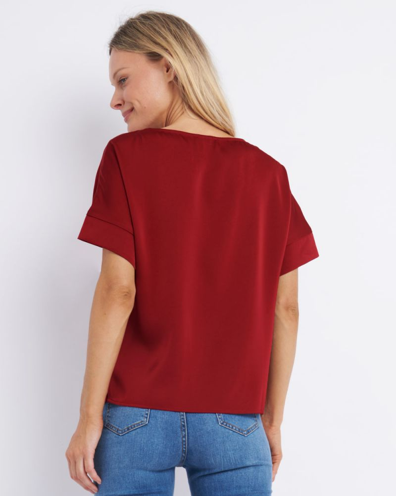 Lexi Short Sleeve Blouse
